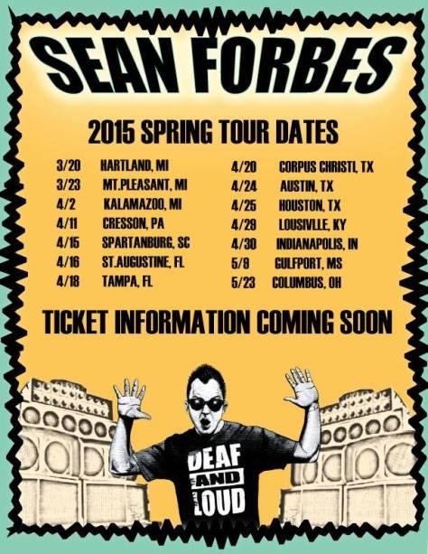 Spring '15 Tour