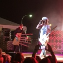Cheap Trick - Rick Nielson sporting his 5 header - Arts, Beats & Eats