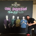 Third time working the One Direction show in Detroit - Ford Field