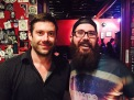 One of my Guitar Idols growing up, Wes Borland of Limp Bizkit, and currently of Queen Kwong