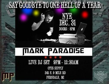 NYE DJ Flyer